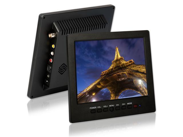 "8"" TFT LCD Color Monitor Screen VGA BNC AV Input for PC CCTV"