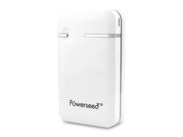 Powerseed PB6000W 6000mAh Portable External Power Bank Battery for Mobile Devices