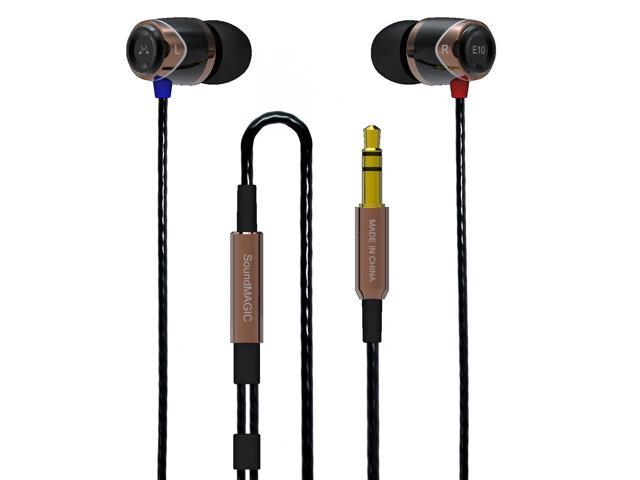 SoundMAGIC E10 GOLD, Noise Isolating In-Ear Headphones Earphones Earbuds