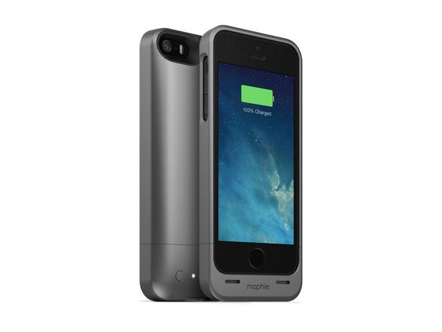 Mophie Juice Pack Helium 1500mAh Protective Battery Case For iPhone 5/5s - Grey