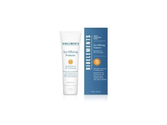 Bioelements Sun Diffusing Protector SPF 15 -4 oz