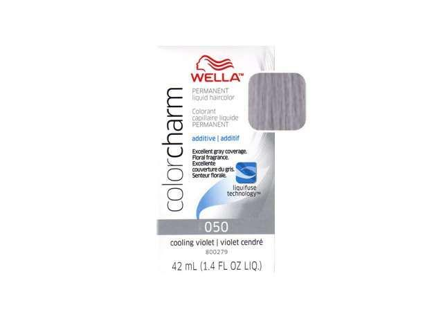 Wella Color Charm Liquid Haircolor 050 Cooling Violet 1.4 oz