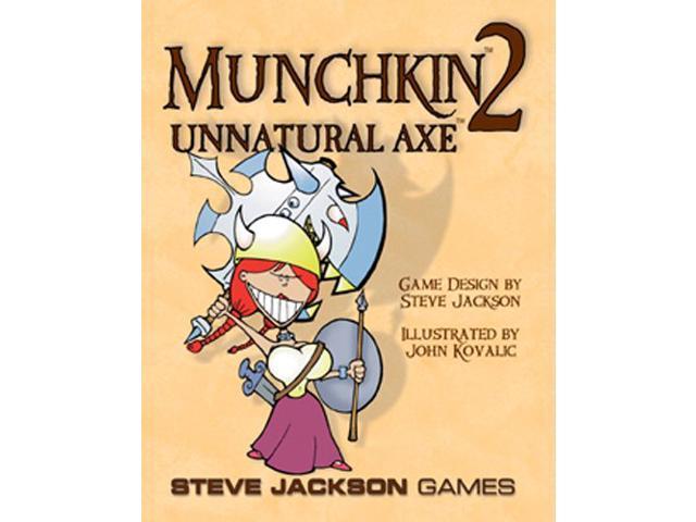 Munchkin 2 - Unnatural Axe (Full Color)