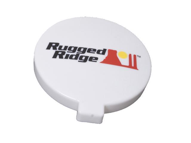 Rugged Ridge 15210.54 6-Inch Off Road Light Cover, White