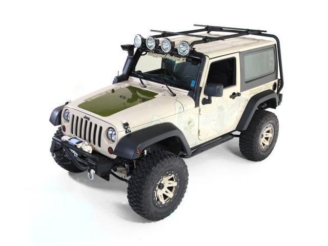 Rugged Ridge 11703.01 Roof Rack 07-14 Jeep 2-Door Wrangler