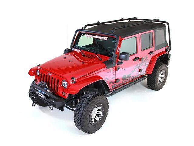 Rugged Ridge 11703.02 Roof Rack 07-14 Jeep 4-Door Wrangler