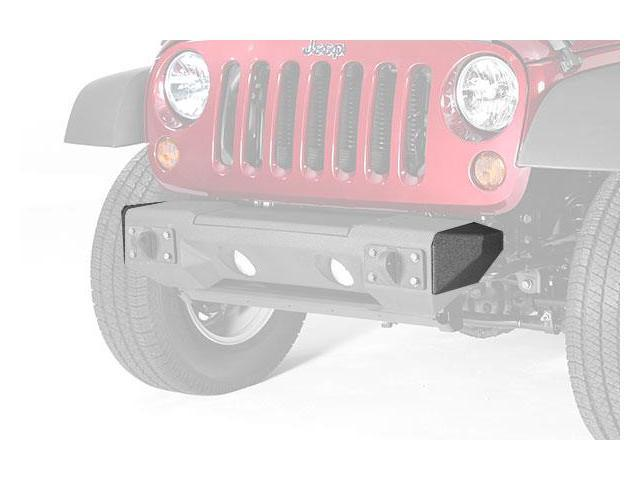 Rugged Ridge 11542.23 All Terrain Stubby Bumper Ends 07-14 Jeep Wrangler