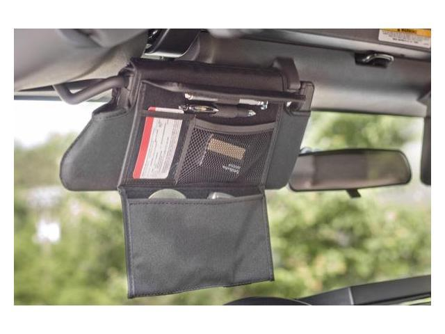 Rugged Ridge 13305.07 Sun Visor Organizer; Pair;