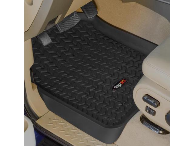 Rugged Ridge 82902.04 Floor Liner, Front Pair, Black, 1997-2003 Ford F150