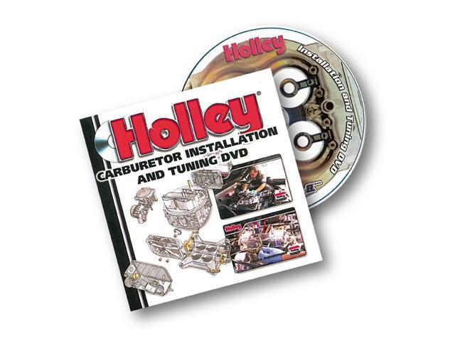 Holley Performance Carburetor Installation And Tuning DVD