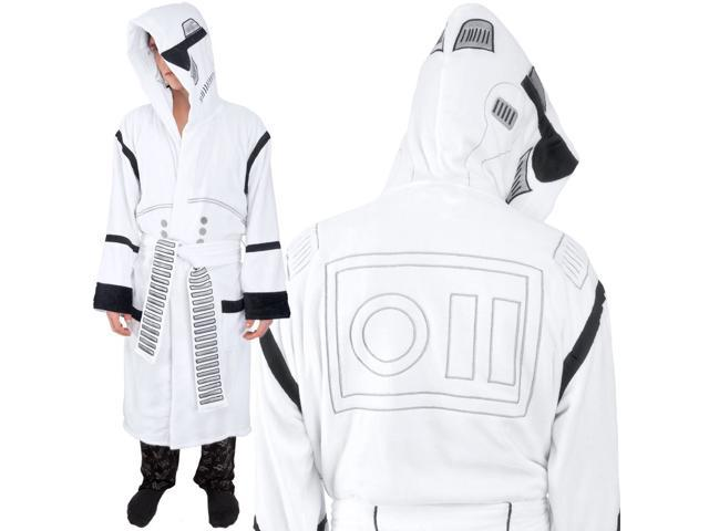 Star Wars Stormtrooper Hooded Cotton Bathrobe, Adult