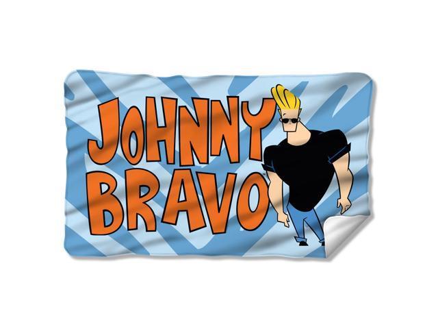 johnny bravo funny cartoon network tv series logo fleece