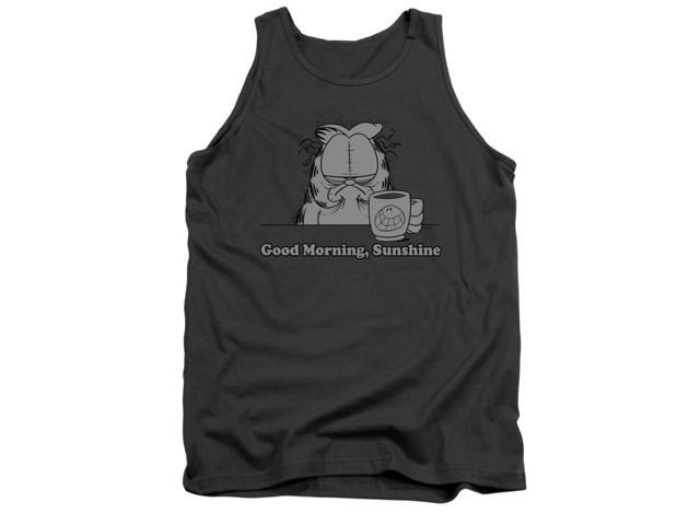 Good Morning Sunshine Shirt : Garfield good morning sunshine mens tank top shirt newegg