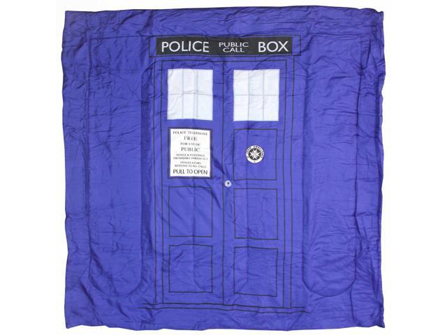 Doctor Who Tardis Microfiber Queen Size Comforter