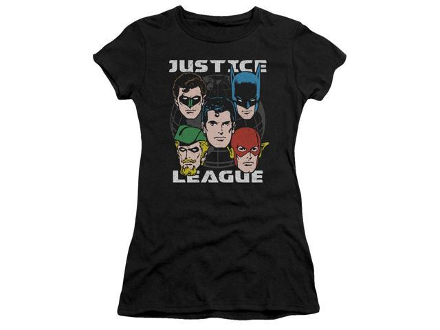Justice League Head Of States Juniors Short Sleeve Shirt