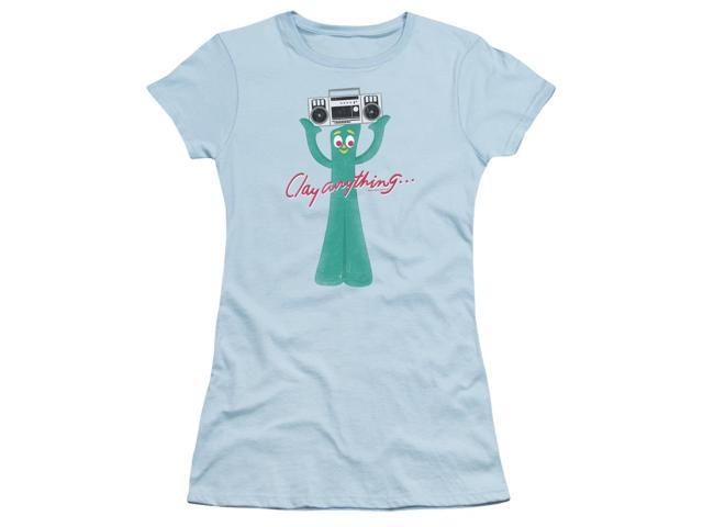 Gumby Clay Anything Juniors Short Sleeve Shirt