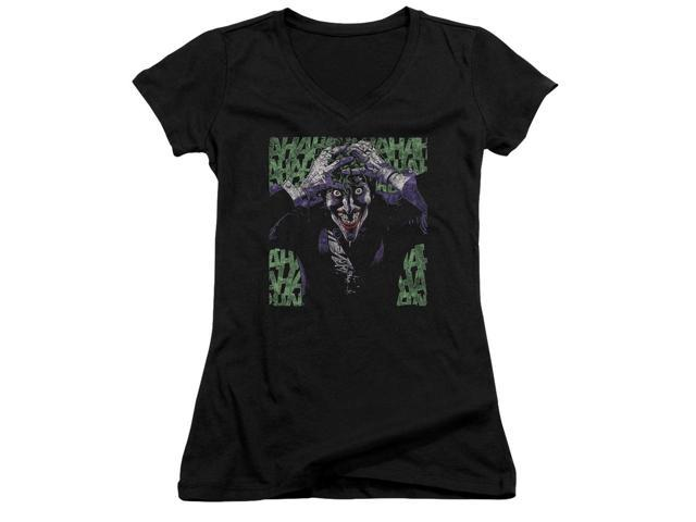 Batman Insanity Juniors V-Neck Shirt