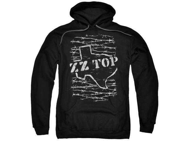 Zz Top Barbed Mens Pullover Hoodie