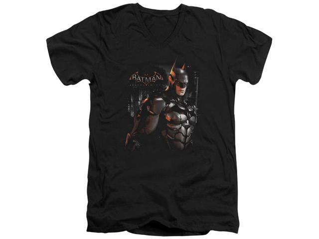 Batman Arkham Knight Dark Knight Mens V-Neck Shirt