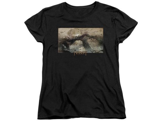 The Hobbit Epic Journey Womens Short Sleeve Shirt