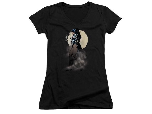 Jla Zatanna Illusion Juniors V-Neck Shirt