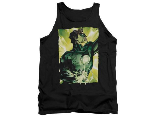 Green Lantern Up Up Mens Tank Top