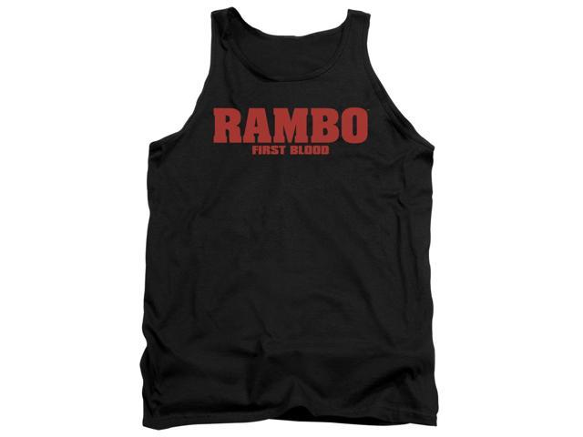 Rambo:First Blood Logo Mens Tank Top Shirt