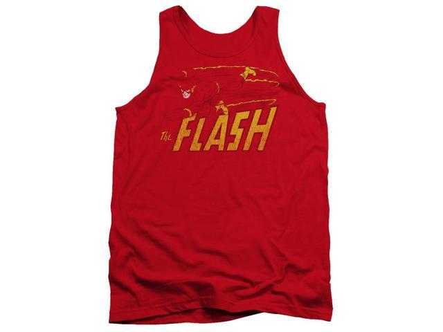 Dc Flash Speed Distressed Mens Tank Top Shirt