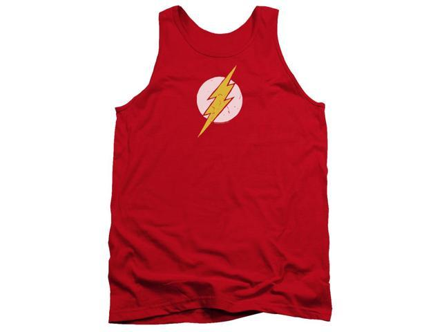 Jla Rough Flash Mens Tank Top