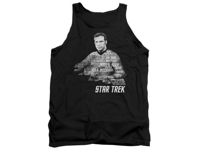 Star Trek Kirk Words Mens Tank Top Shirt