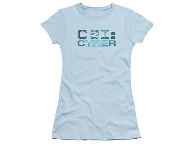 CSI: Cyber Cyber Logo Juniors Short Sleeve Shirt
