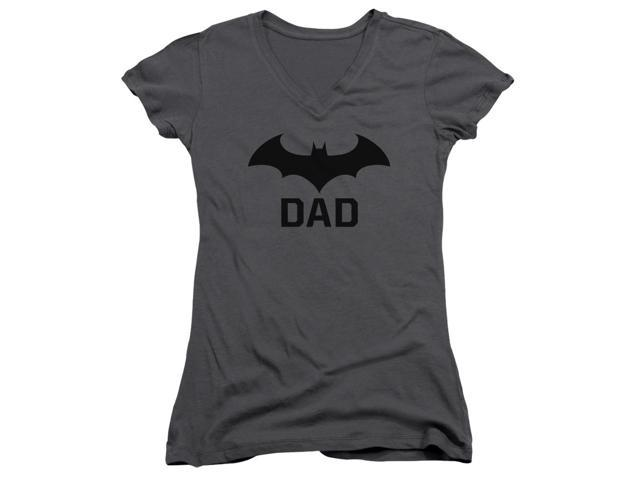 Batman Hush Dad Juniors V-Neck Shirt
