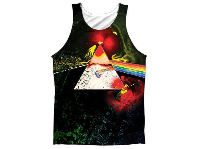 Pink Floyd Dark Side Of The Moon Mens Sublimation Polyester Tank Top Shirt