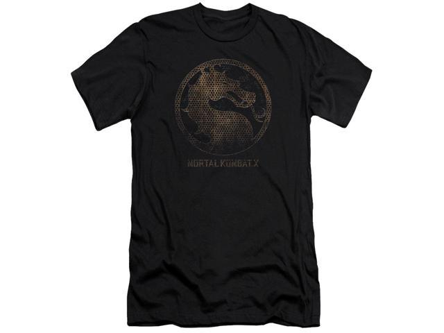 Mortal Kombat X Metal Seal Mens Slim Fit Shirt
