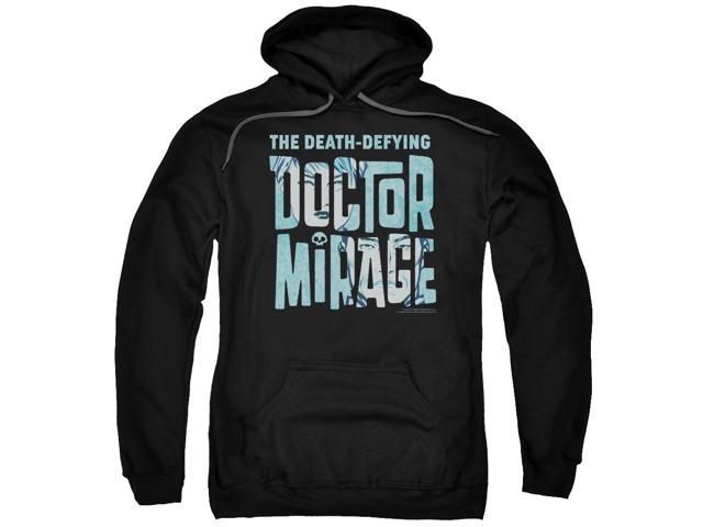 Doctor Mirage Character Logo Mens Pullover Hoodie