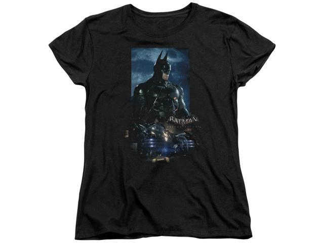 Batman Arkham Knight Batmobile Womens Short Sleeve Shirt