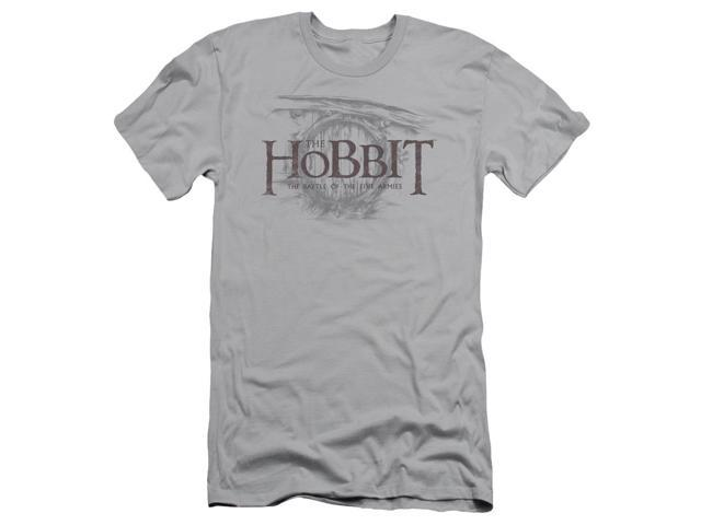 The Hobbit Door Logo Mens Slim Fit Shirt