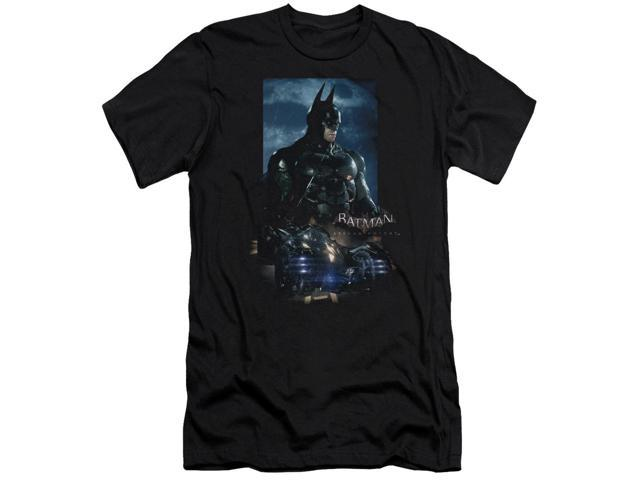 Batman Arkham Knight Batmobile Mens Slim Fit Shirt