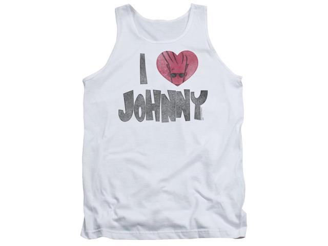Johnny Bravo I Heart Johnny Mens Tank Top Shirt