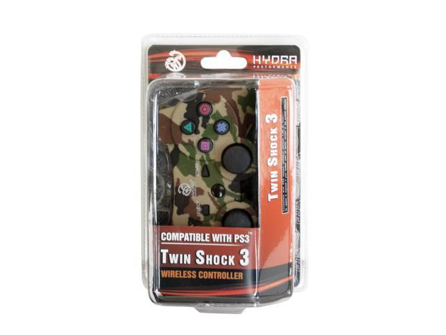 Hydra Performance® PS3 Twin Shock 2.4 Ghz Wireless Controller Gamepad for PlayStation 3