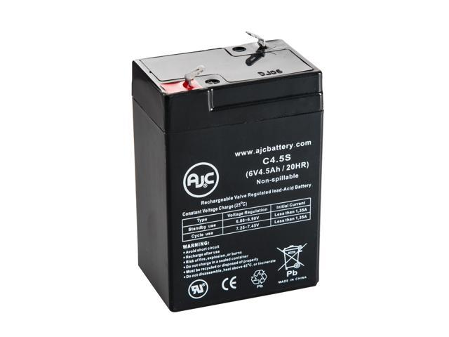 Teledyne S64 6V 4.5Ah Emergency Light Battery - This is an AJC Brand® Replacement