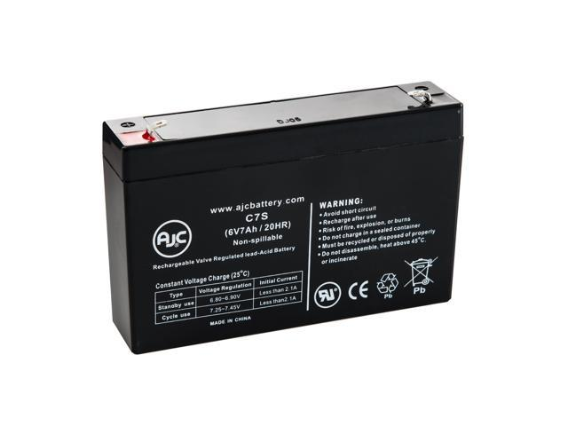 Eaton PowerWare PW5115 1500 RM 103003275-6591 6V 7Ah UPS Battery - This is an AJC Brand® Replacement