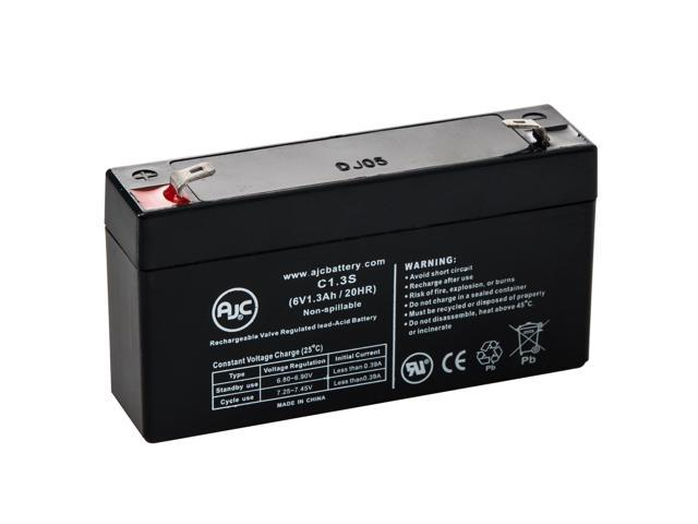 Parks Medical 922 Doppler 6V 1.3Ah Medical Battery - This is an AJC Brand® Replacement