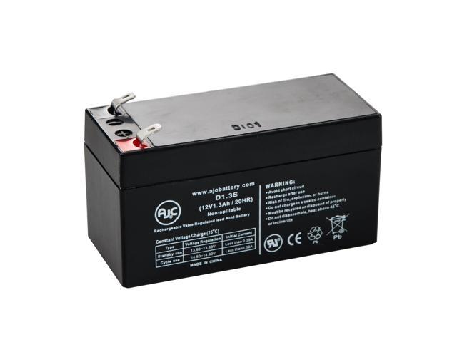 GS Portalac PE1112R 12V 1.3Ah Emergency Light Battery - This is an AJC Brand® Replacement