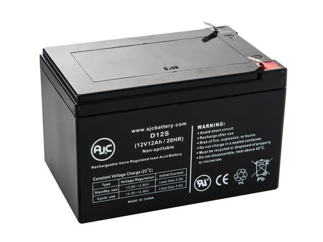 Terminator II 12V 12Ah Scooter Battery - This is an AJC Brand® Replacement