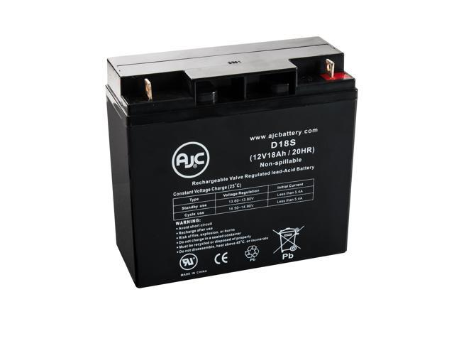 Pride Mobility Sidekick(before 1996) 12V 18Ah Wheelchair Battery - This is an AJC Brand® Replacement