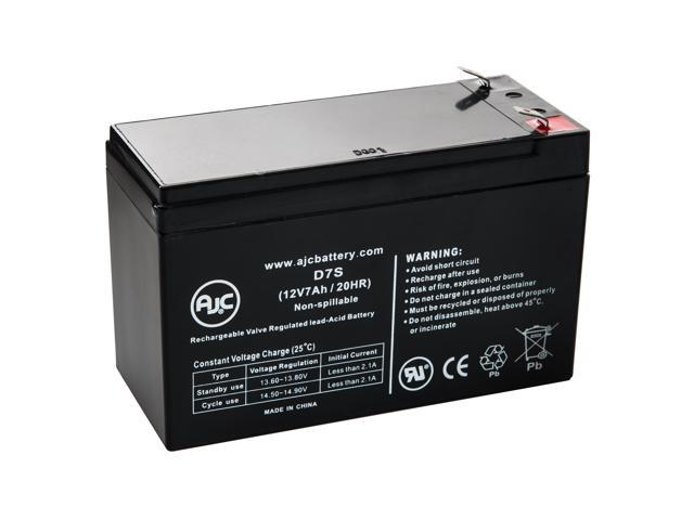 Best Power Fortress II - LI 520 BTG-0301 12V 7Ah UPS Battery - This is an AJC Brand® Replacement