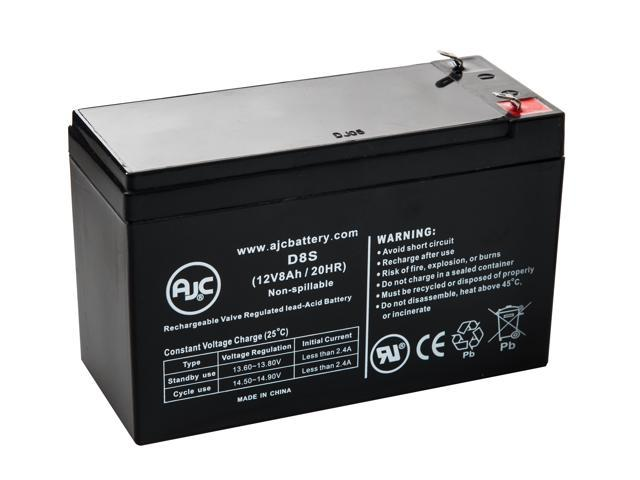 EaglePicher CF12V6 12V 8Ah UPS Battery - This is an AJC Brand® Replacement