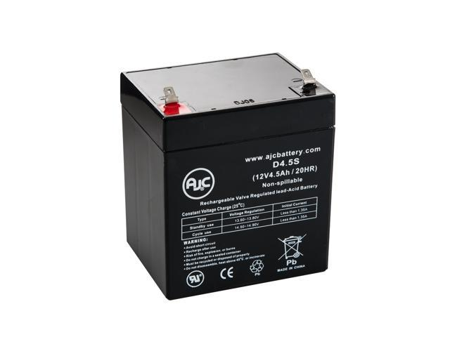 CyberPower 485VA 12V 4.5Ah UPS Battery - This is an AJC Brand® Replacement