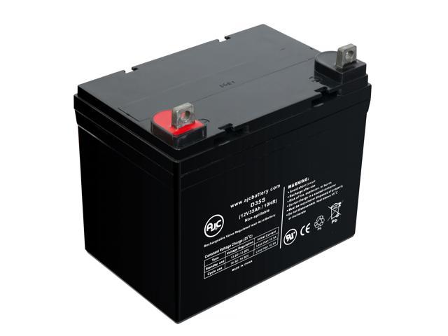 Merits P101 Commuter 12V 35Ah Wheelchair Battery - This is an AJC Brand® Replacement